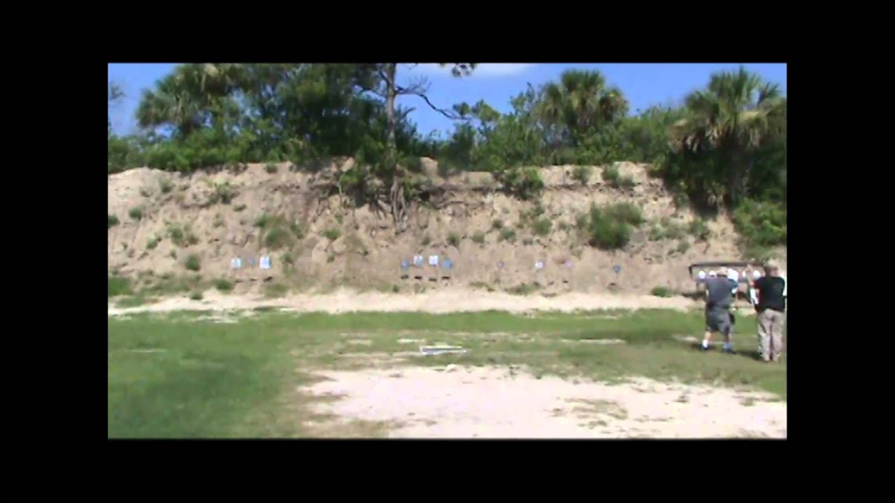 Bay 3 July 2012 FL Subgun Match with Uzi SMG