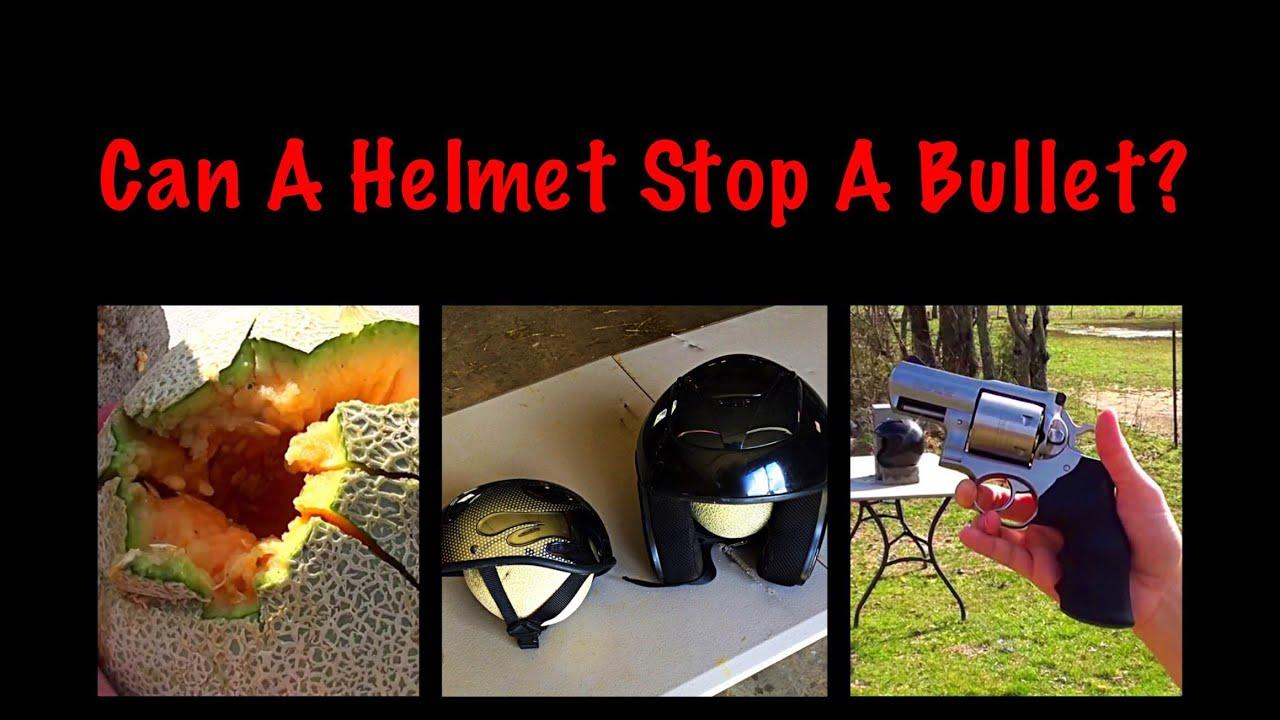 Can A Helmet Stop A Bullet?