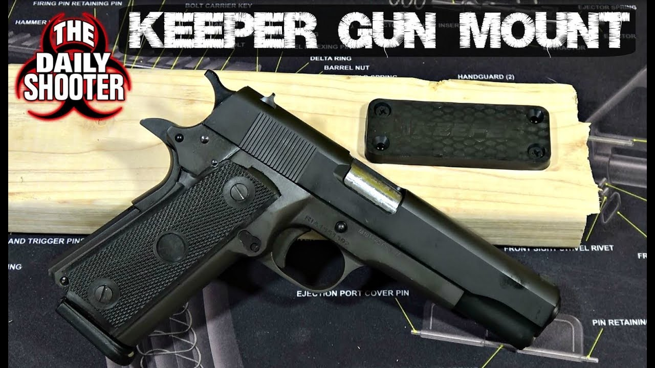 Keeper Magnetic Gun Mount Review
