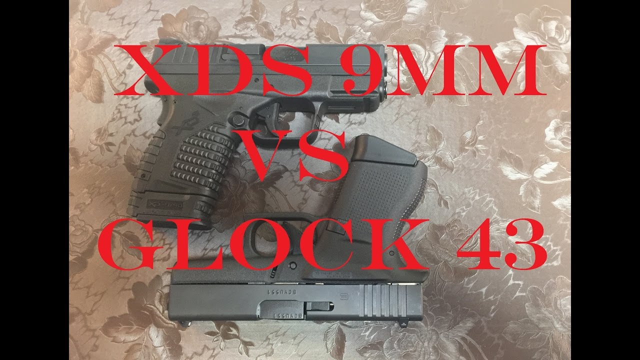 Springfield XDS vs Glock43