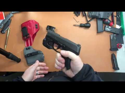 MIE Production Holsters for the Sig P365 Streamlight TLR6 & Olight PL-Mini2