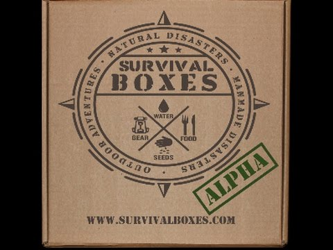Survival Boxes Welcome Box