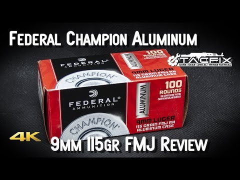 Federal Champion Aluminum 9mm Review