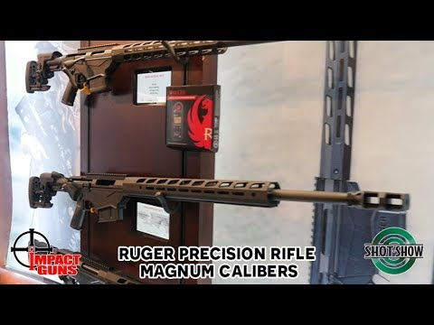 Ruger Precision Rifle in Magnum Calibers - SHOT Show 2019
