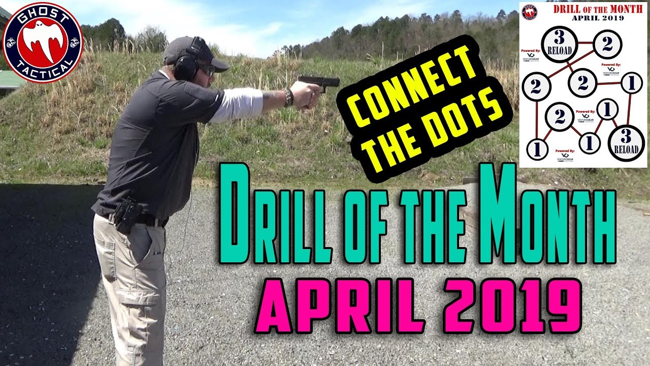Ghost Tactical Drill of the Month:  April 2019:  Connect The Dots