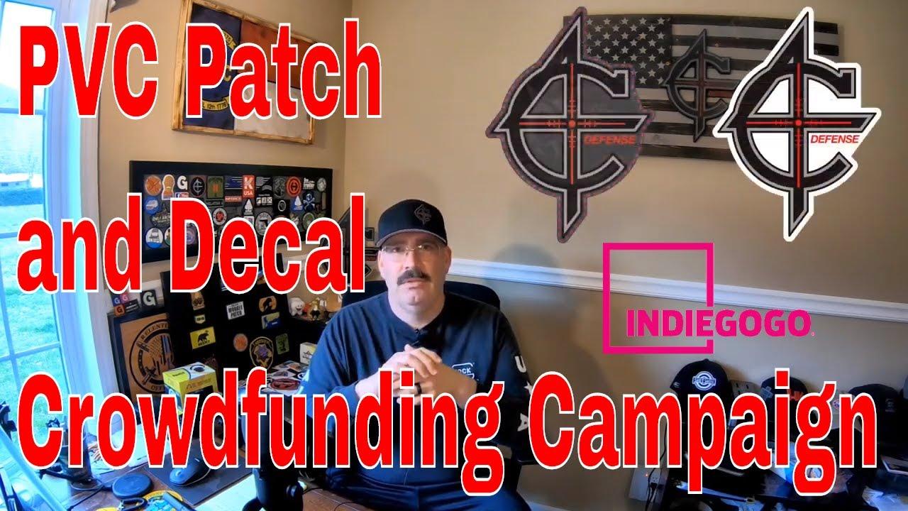 C4 Defense PVC Patch Indiegogo