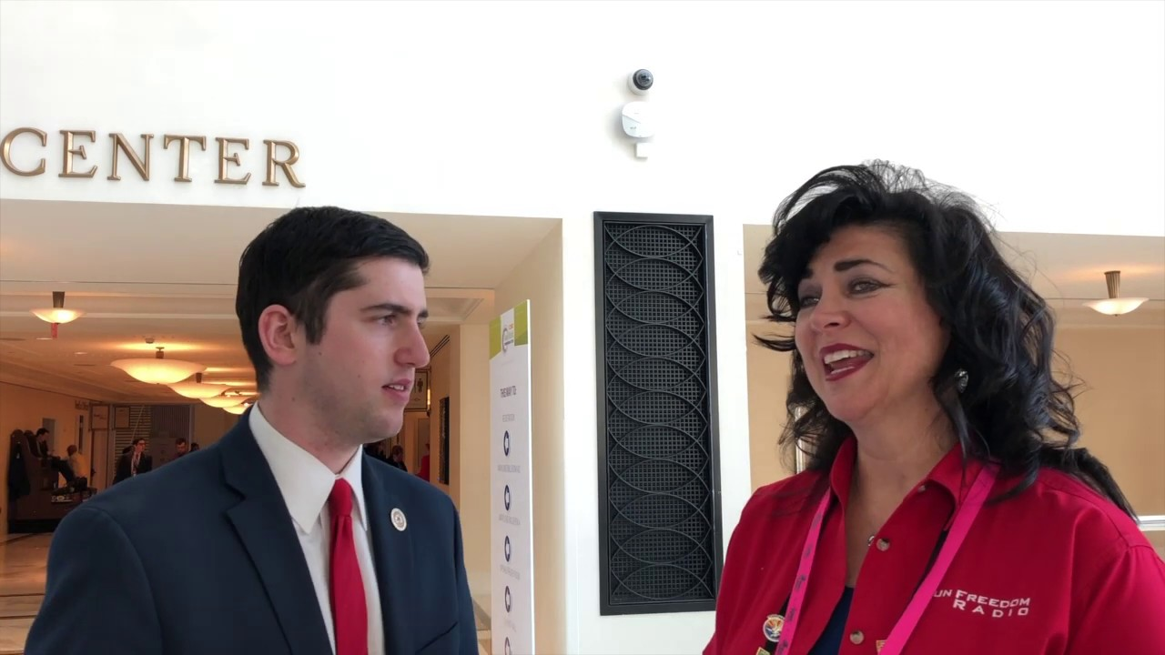 CPAC 2019 GFR Interview with Tyler Yzaguirre about the DFA Summit