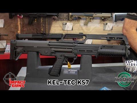 Kel Tec KS7 12 Gauge Pump Action Shotgun- SHOT Show 2019