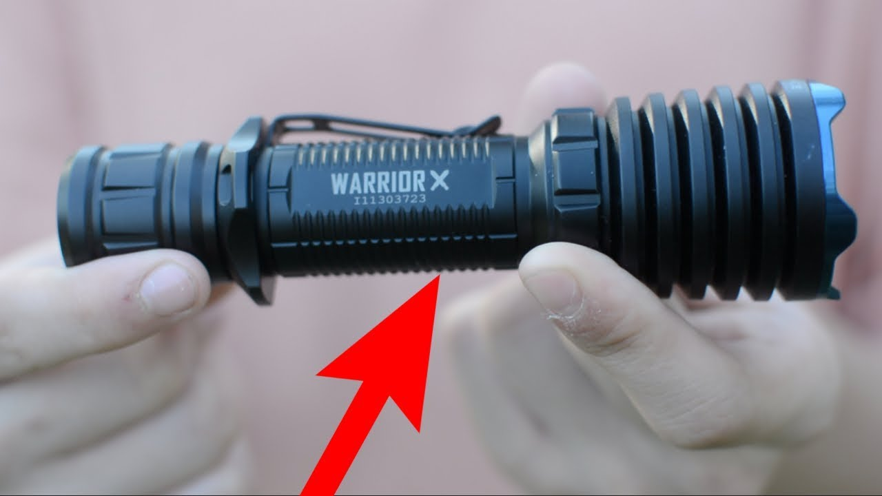 2,000 Lumen Olight Warrior X!