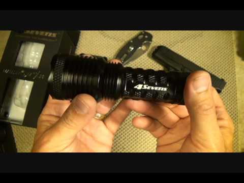 4Sevens X10 Tactical Flashlight