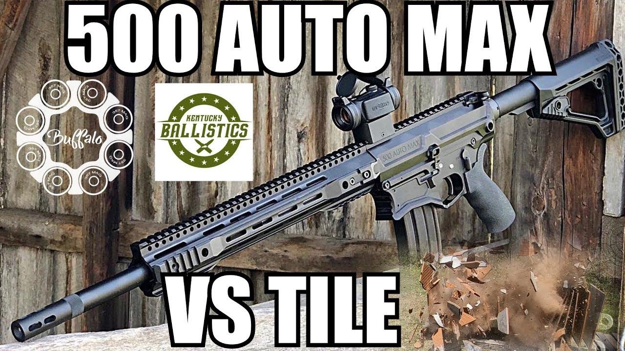 500 Auto Max vs Ceramic Tile