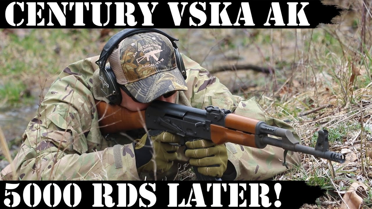 Century VSKA AK: 5,000 Rds Later - End Game!