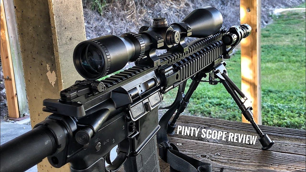 Budget Scope Under $40: Pinty 6-24X50