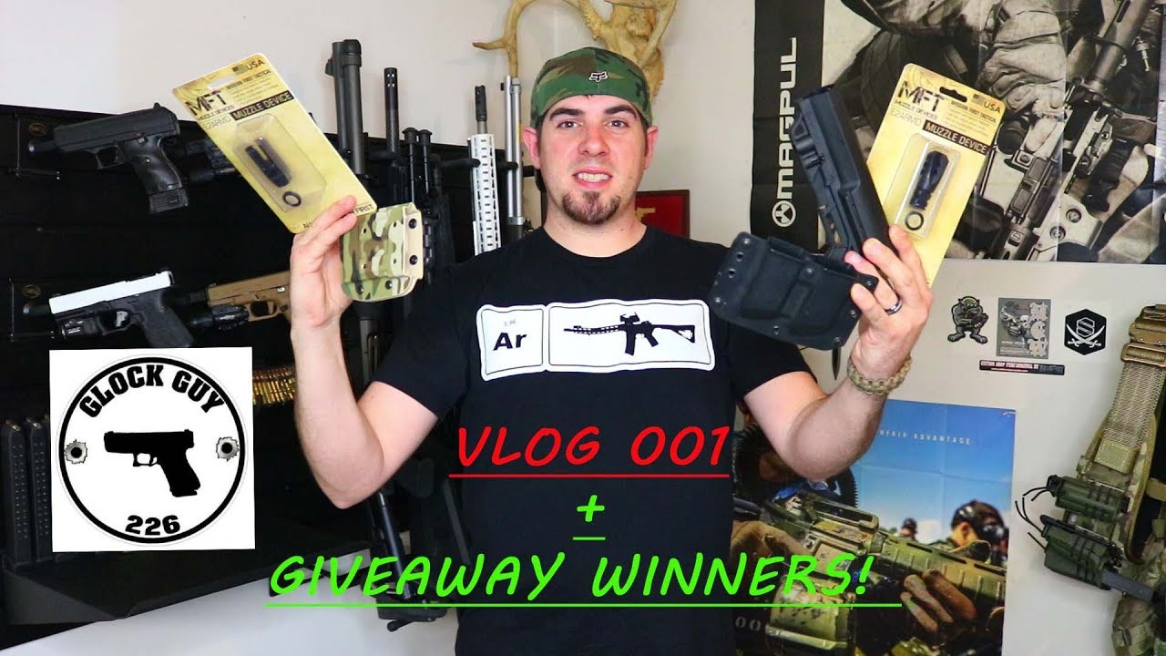 GUN SHOW FIND + GIVEAWAY WINNERS! - VLOG 001