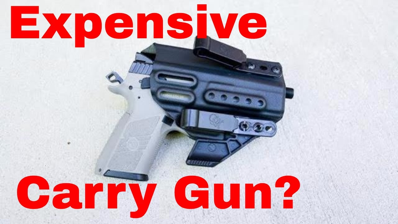 Are you stupid for having an expensive carry gun?