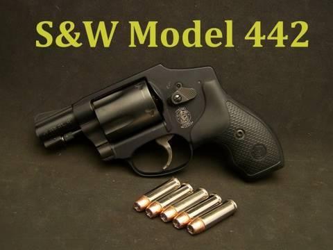 S&W Model 442 Airweight Revolver