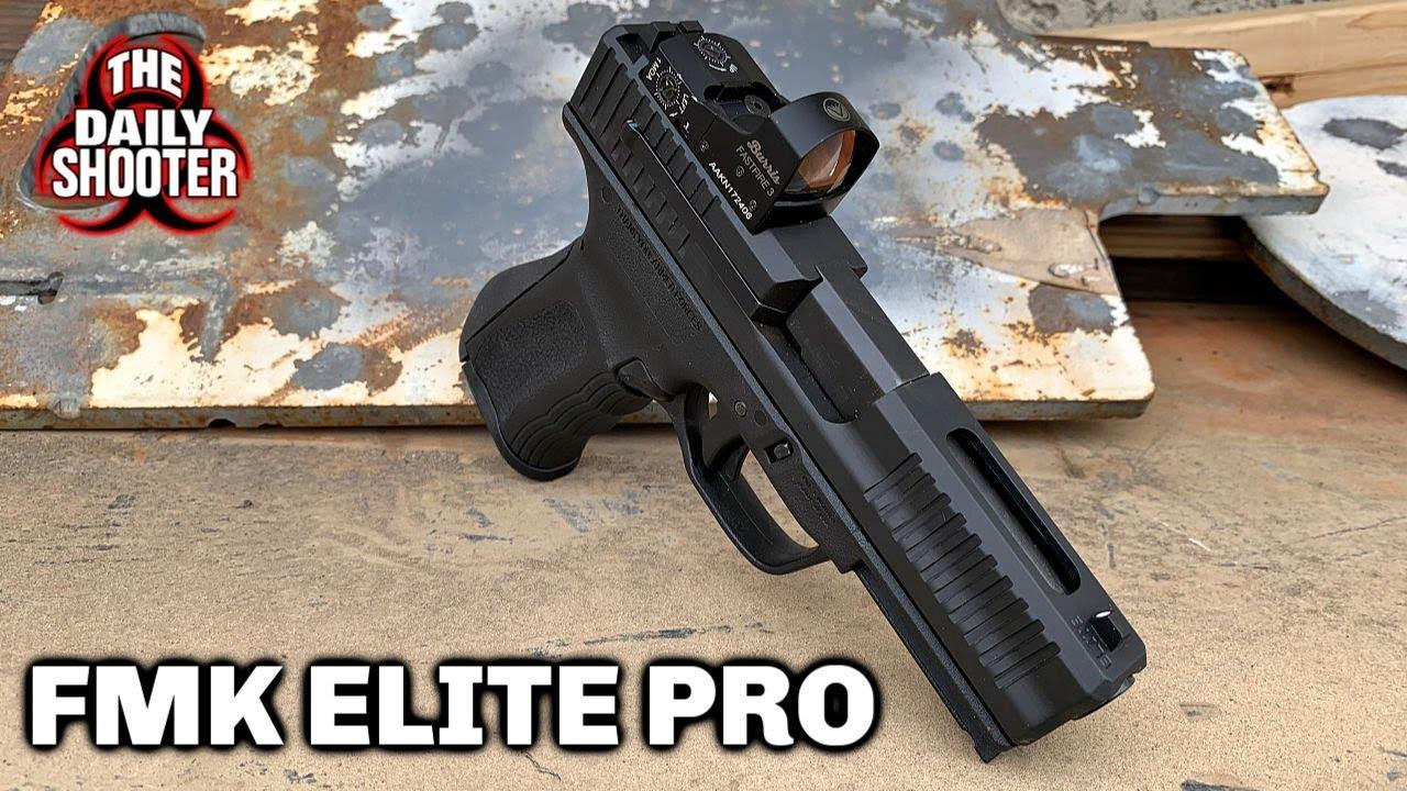 FMK Elite Pro Optics Ready 9mm Pistol Review