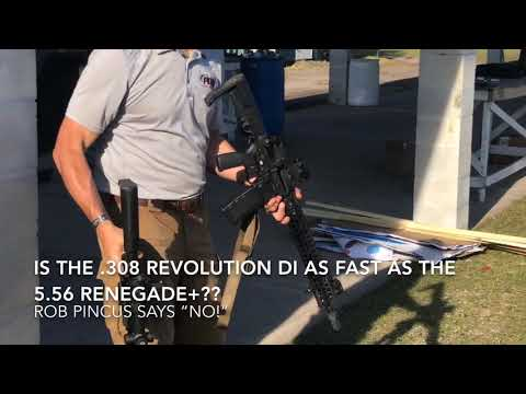 POF .308 Revolution DI ... is it really as fast as a 5.56??