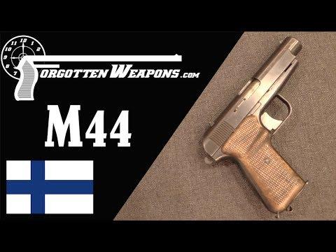 Finnish m/44 Prototype Blowback 9mm Pistol