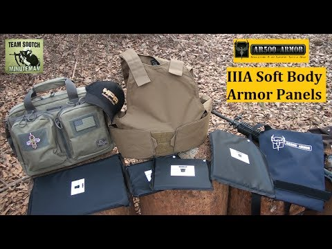 AR500 Armor Soft Body Armor Concealment Carriers