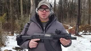 AK Pistol M92 Midwest Industries rail and blast diverter - 3/3