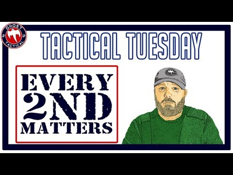 Tactical Tuesday LIVE ep 84:  Every 2nd Matters