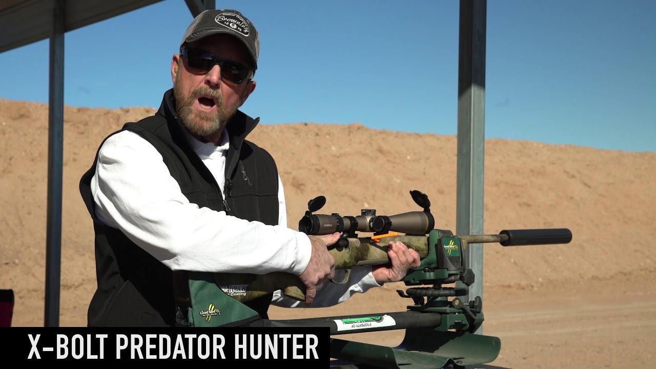X-Bolt Predator Hunter