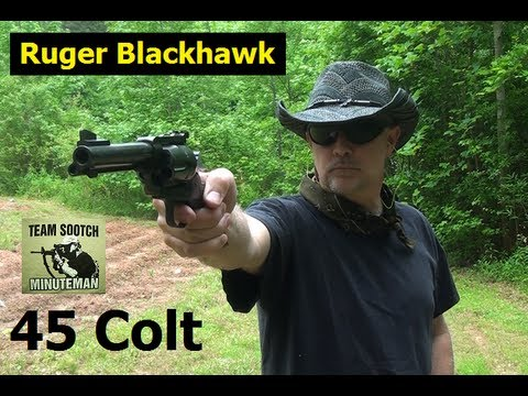 Ruger Blackhawk Single Action Revolver