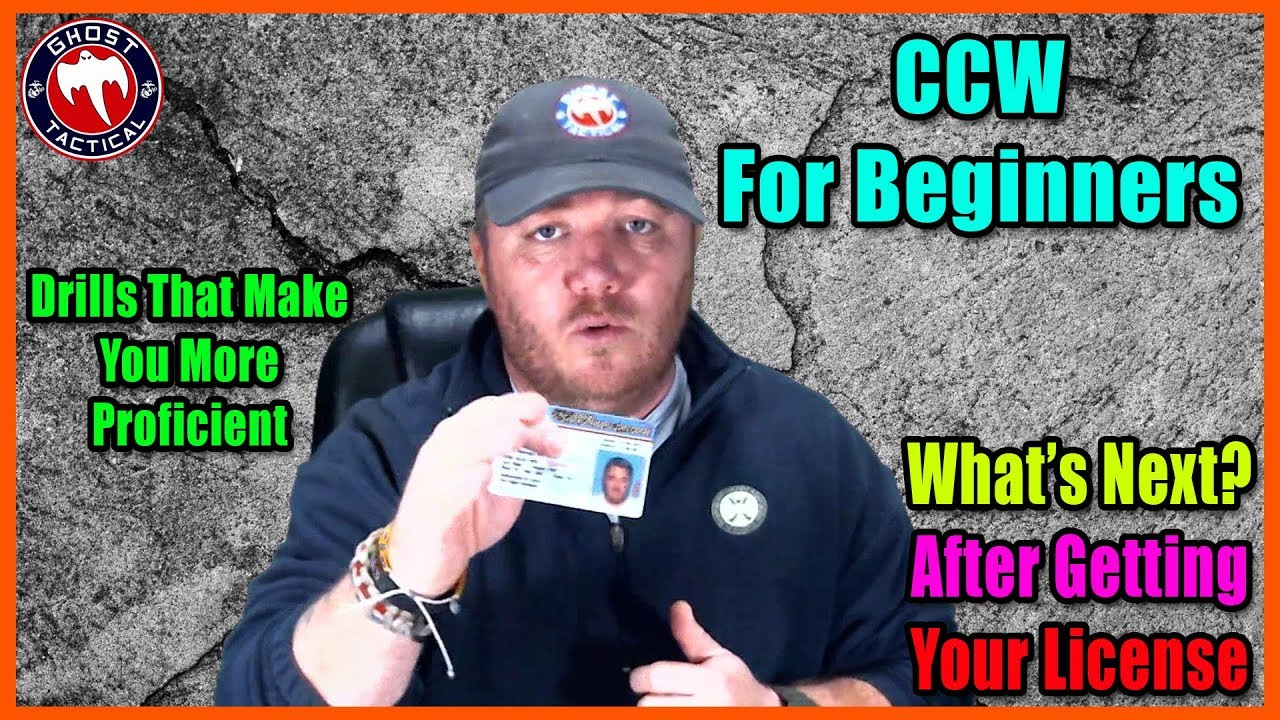 CCW Tips:  Drills To Prepare You