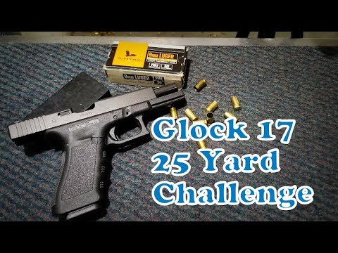 25 Yard Challenge   Glock 17