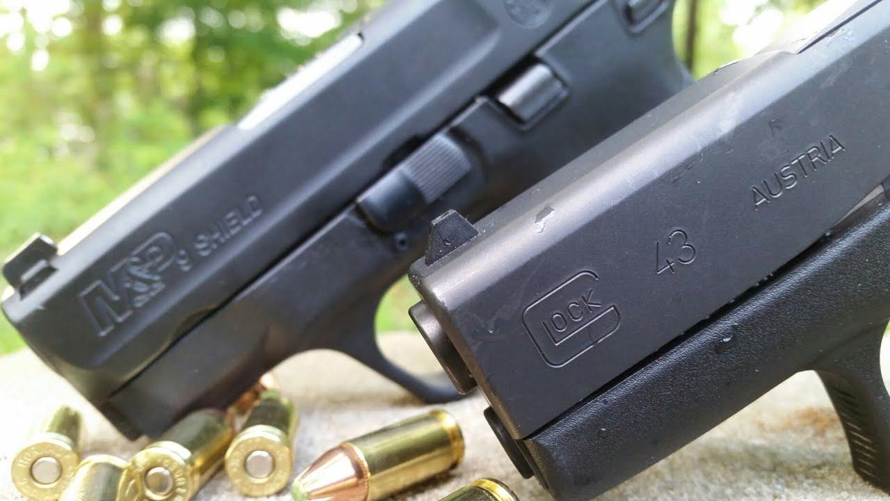 Glock 43 Vs M&P Shield...Has The Shield Met It's Match?