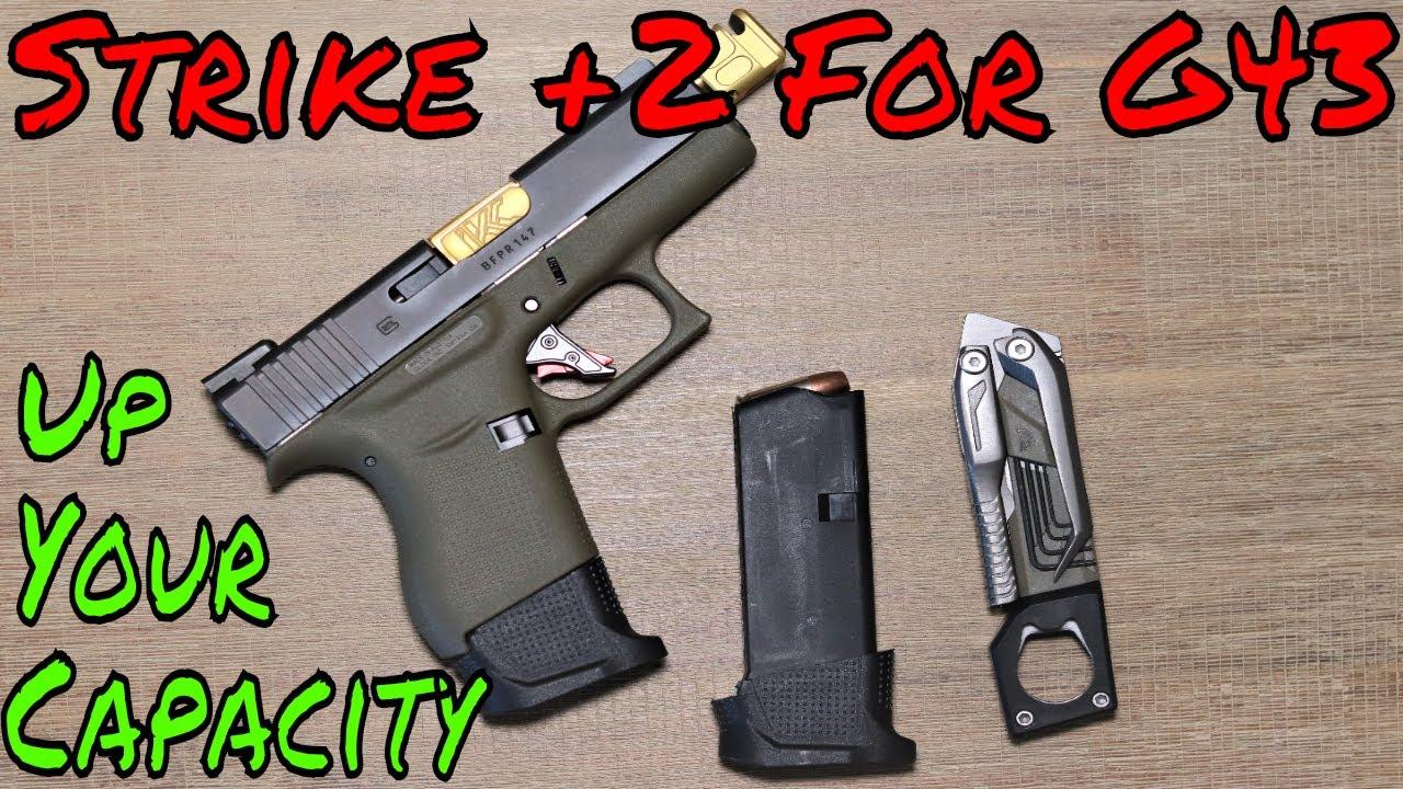 Strike Industries G43 Mag Extension Get MORE BANG!