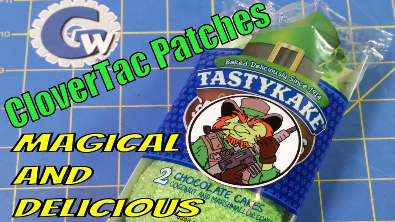 CloverTac Patches are Magical and Delicious #MailCallMonday