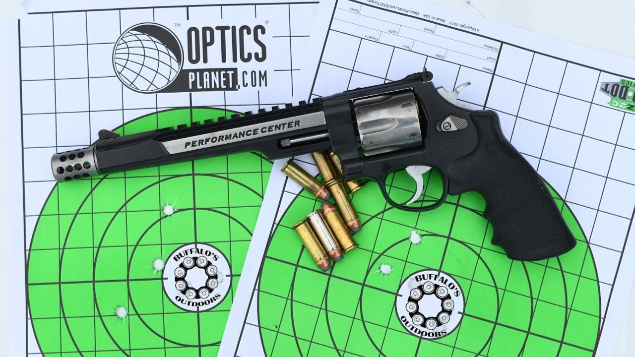 Smith and Wesson .44 Magnum Hunter - 5 shots @ 50 yards