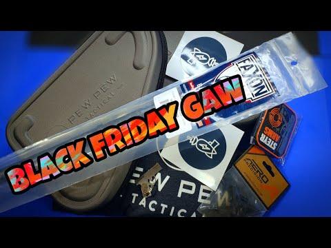 Black Friday & A Pew Pew Tactical GAW