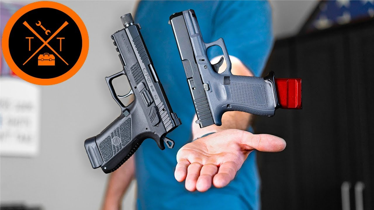 Glock 19 Vs. CZ 75 P-07 // Which is Best For Carry?