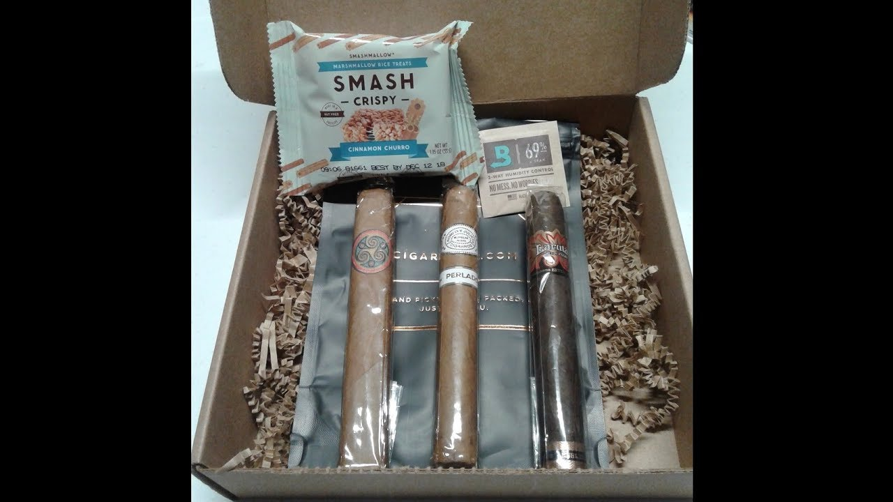 Unboxing 002 - Cigars, Whiskey and Shirts