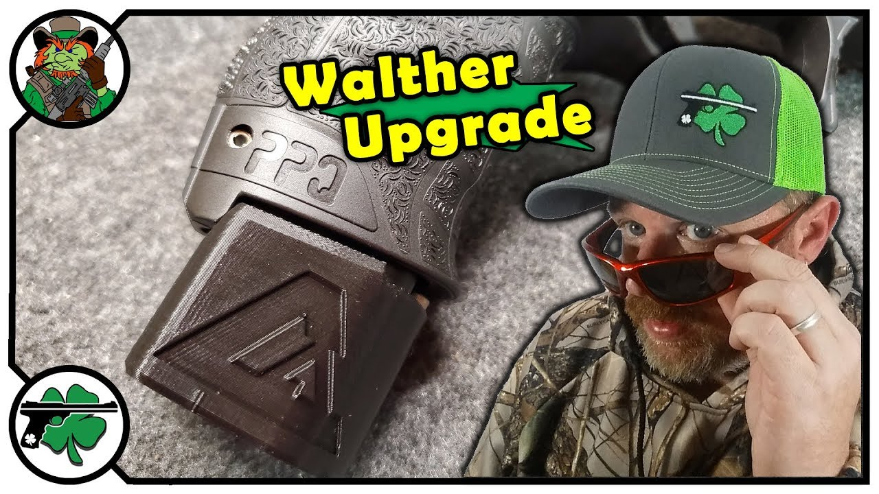 Cain Arms Magazine Extension For Walther PPQ Pistol