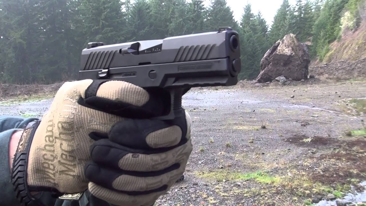 Sig Sauer P320 | The Army's New Service Pistol