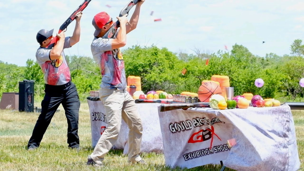 Gould Brothers Live Exhibition 💥 Shotgun Trick Shots 💥 A Show Like No Other