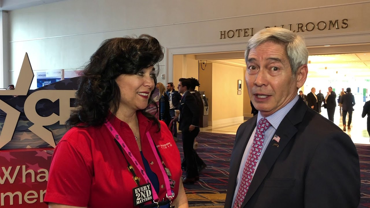 CPAC 2019 GFR Interview with Willes Lee for NRA Board