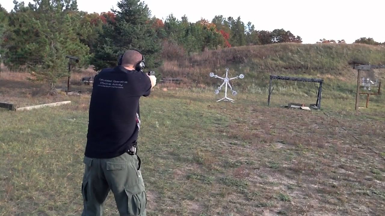 Shooting Steel With Sig P226