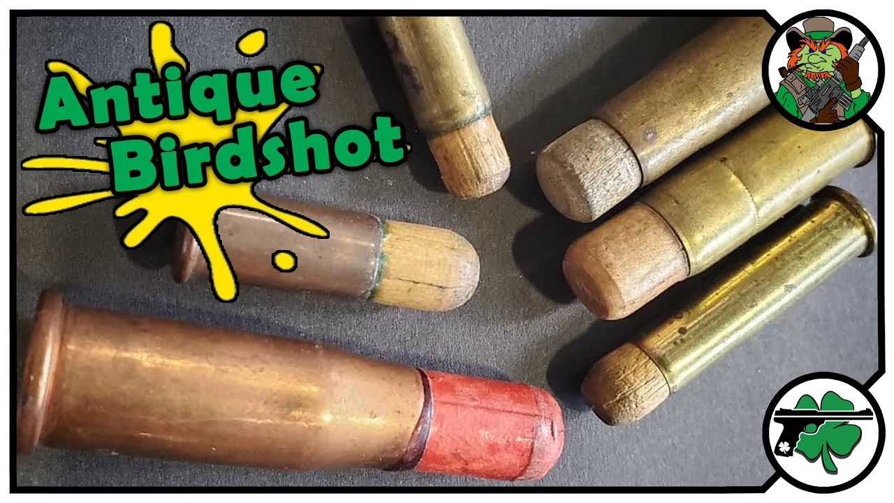 Forager Cartridge History aka Antique Birdshot