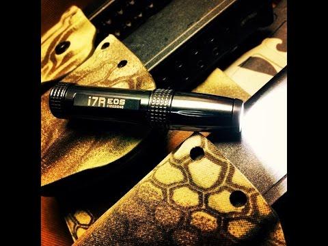 Olight i7R Eos Ti 120 Lumen Keychain Rechargeable Light