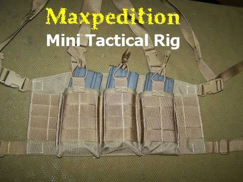 Mini Tactical Chest Rig by Maxpedition