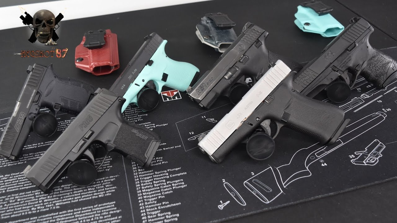 How Small Is The Glock 43X? Size Comparison W/Popular CCWs