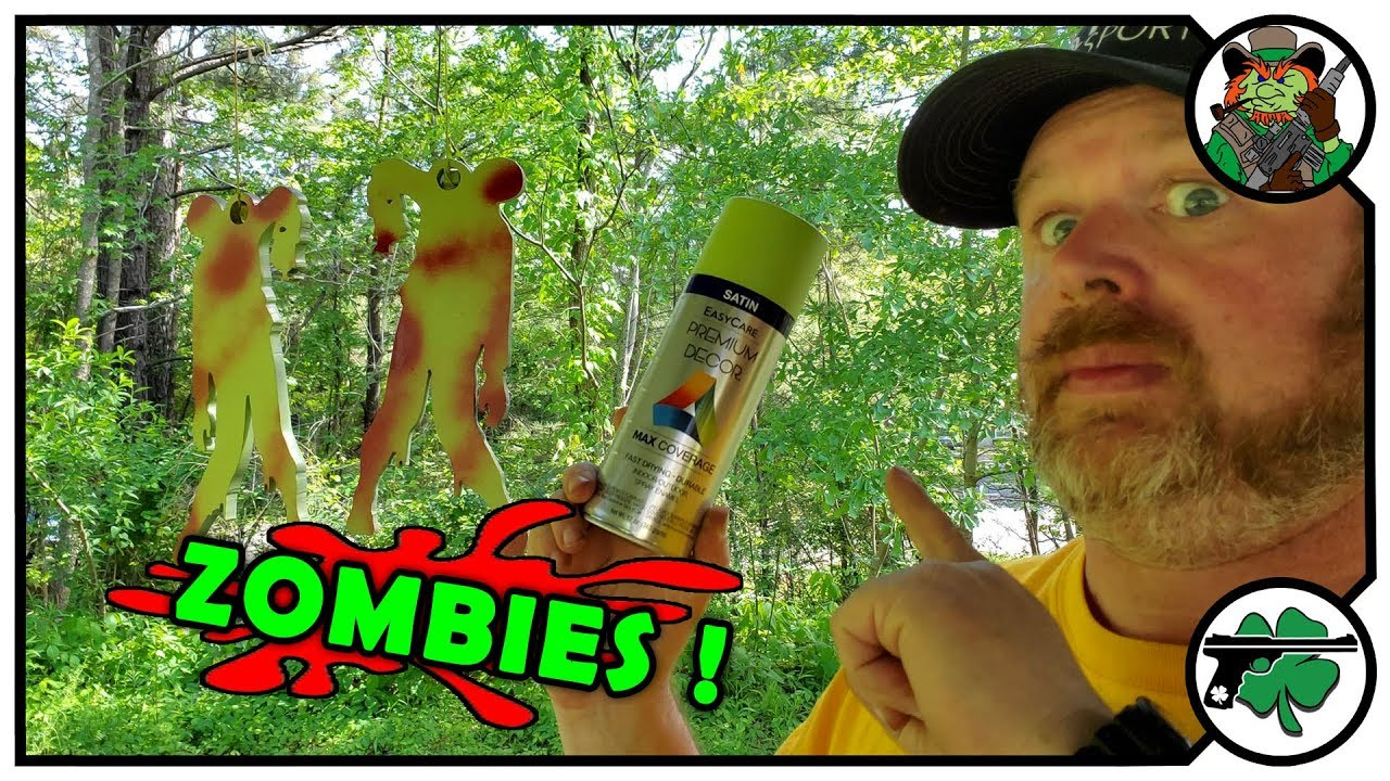 ZOMBIE Target Edition - Watching Paint Dry LIVE!