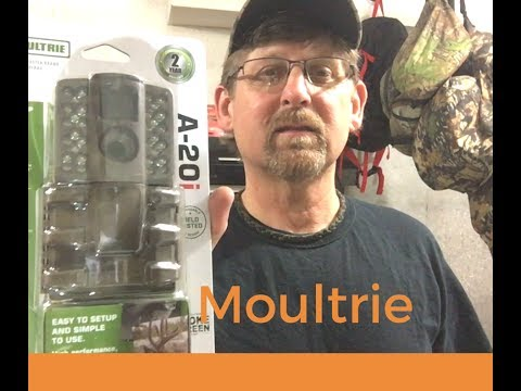 Moultrie A20i trail camera Unboxing and test