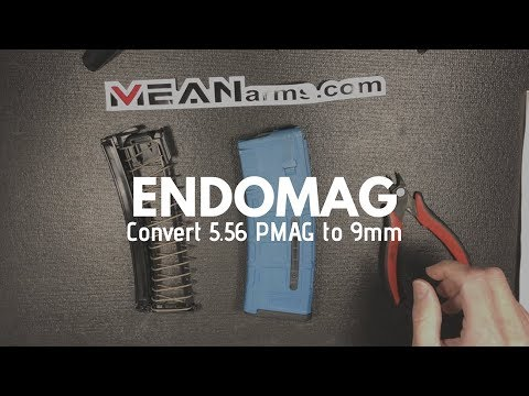 9mm PMAG! New Conversion with Endomag