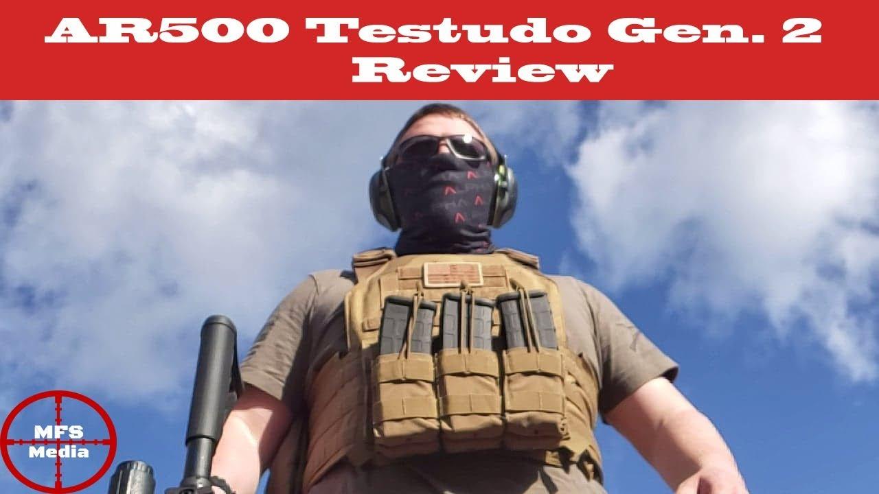 AR500 Armor Testudo Gen 2 Plate Carrier Review